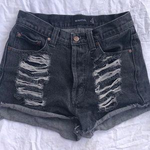 Minkpink Slasher Flick Cutoff Shorts